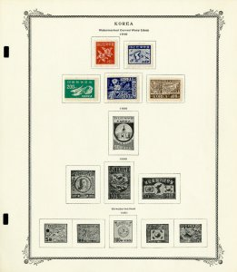 Korea Loaded Mostly Mint 1940s to 1970s Stamp Collection