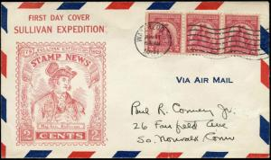 #657-12A WATERLOO, NY U.S. FIRST DAY COVER ROESSLER CACHET BM9570