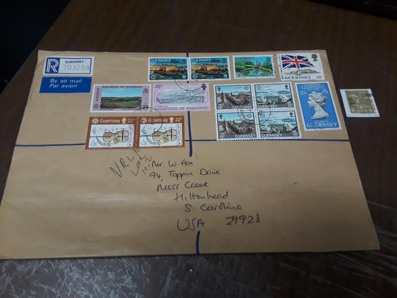 8 Pc Gernsey Registered Covers