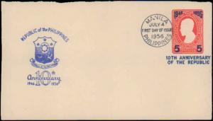 Philippines, Postal Stationery