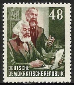 German Democratic Republic (DDR) 1953 Scott# 1447 MH