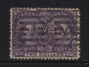 Canada #62 VF Used