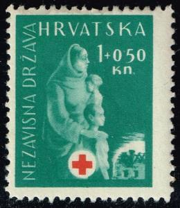 Croatia #B42 Mother and Child; Unused (0.75)