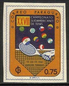 Paraguay 1961 Scott# 606 MH