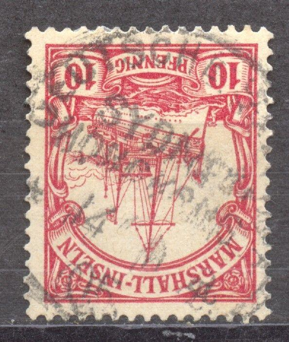 Marshall Islands, Seapost, SYDNEY-HONKONG a 14.1.05 on 10 Pf. Yacht. RARE