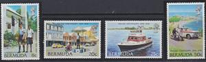 Bermuda 385-388 MNH (1979)