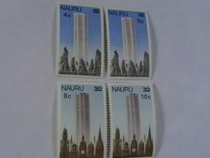 NAURU # 161-164-MINT/NEVER HINGED-COMPLETE SET----QEII----1978