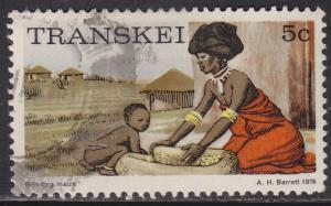 Transkei 9 USED 1976 Grinding Corn