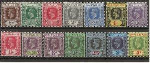 Fiji 93-106 SG 228-41 MLH VF 1922-27 SCV $152.80 (jr)
