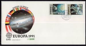 Ireland 832-833 Europa Space U/A FDC