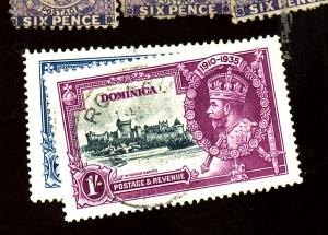 Dominica #90-93 Used XF Cat $20