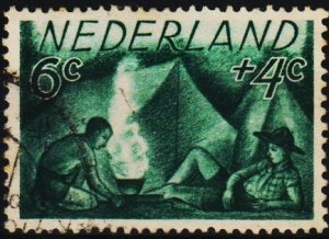 Netherlands. 1949 6c+4c S.G.681 Fine Used