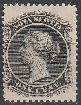 Nova Scotia #8 F-VF Unused  CV $15.00  (A9947)
