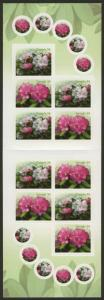 Canada 2320a Booklet MNH - Rhododendrons , Flowers