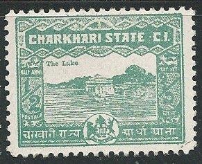 India - Charkhari ||  Scott # 28 - MH