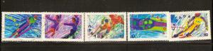 CANADIAN SET ON WINTER OLYMPICS USED STAMPS  LOT#243