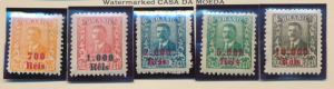 Brazil Stamps Scott #293 To 297, Mint Hinged - Free U.S. Shipping, Free World...