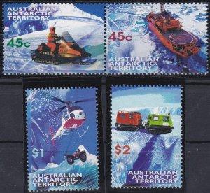Australian Antarctic Territory L107-L110 MNH (1998)