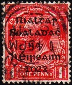 Ireland. 1922 1d S.G.2 Fine Used