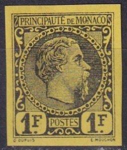 Monaco #9 Imperf Proof  (Z3791)
