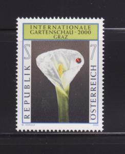 Austria 1809 Set MNH Flower (B)