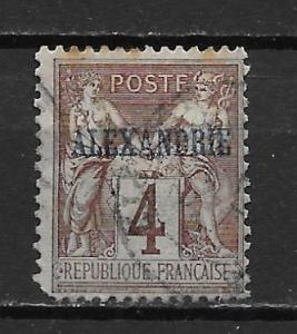 France Offices in Egypt - Alexandria 4 4c Commerece single Used