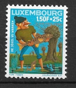 Luxembourg 1966 Jekel, Warden of the Wark MNH**