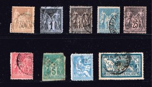FRANCE STAMP COLLECTION LOT  M1