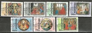 GRENADA. 1976   Christmas Artworks  Stamp Set WYSIWYG Lot