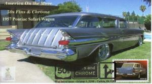 50s Fins & Chrome First Day Cover #4, from Toad Hall Covers!
