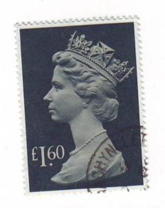 Great Britain ScMH174 £1.60 Machin Head stamp used