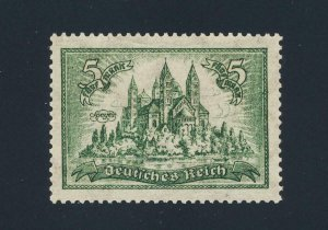 GERMANY 1925, 5M SPEYER CATHEDRAL, VF MNH Sc#350 CAT$135 (SEE BELOW)