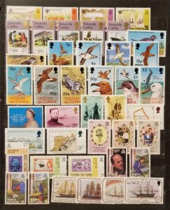 TRISTAN DA CUNHA Stamp Lot MNH MH OG T2489