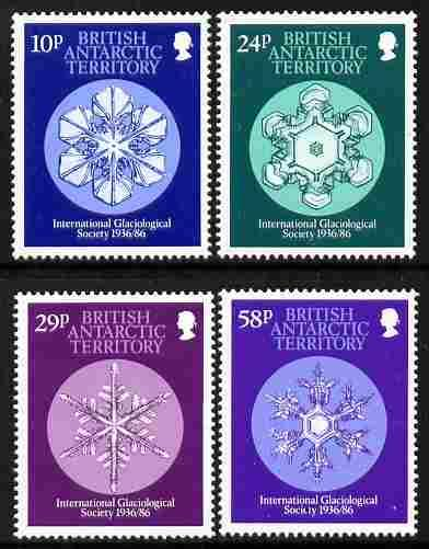British Antarctic Territory 1986 50th Anniversary of Inte...
