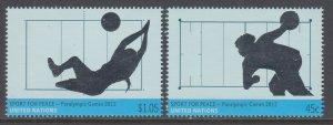 UN New York 1049-1050 MNH VF