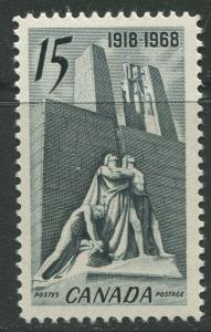 STAMP STATION PERTH Canada #486 CanadianvMemorial in France 1968 MNH CV$2.00