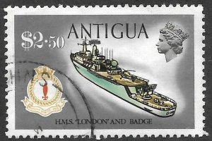 Antigua # 256 Used