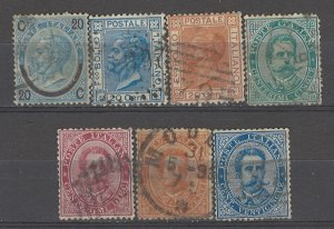 COLLECTION LOT # 5383 ITALY 7STAMPS 1865+ CV+$21