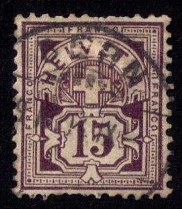 Switzerland Sc 76 Used Very Fine