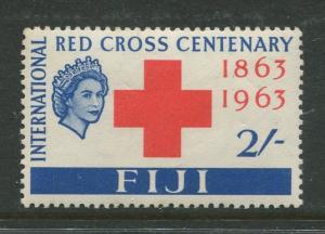 Fiji - Scott 204 - Red Cross Issue 1963 - MVLH - Single 2/- Stamp