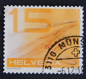 Postage stamp, Switzerland, №9-(25Sw-2IR)