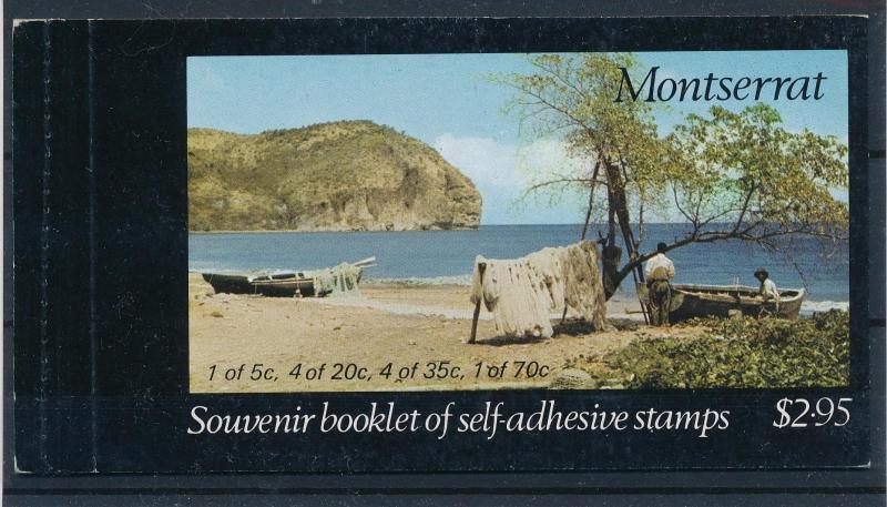 [50018] Montserrat 1975 Caribbean culture Canoe Jewelry Booklet MNH