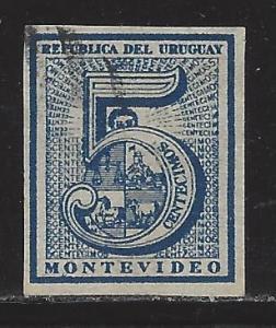 Uruguay Scott # 30f, used