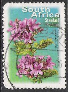 South Africa #1318 Flowers Used