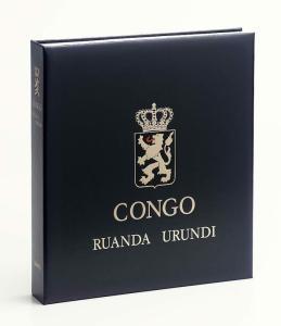 DAVO Luxe Hingless Album Belgian Congo I 1886-1961