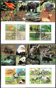 UN UNITED NATIONS 1990s SET OF 4 MAXI CARD MC MAXIMUM CARD ENDANGERED SPECIES