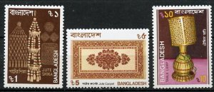 Bangladesh MNH 292-4 Artifacts