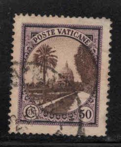 Vatican Scott 24 Used 1933 stamp