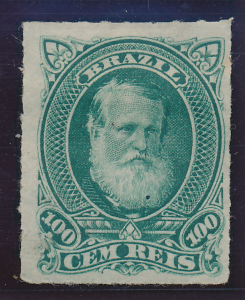 Brazil Stamp Scott #72, Mint Hinged, Original Gum - Free U.S. Shipping, Free ...
