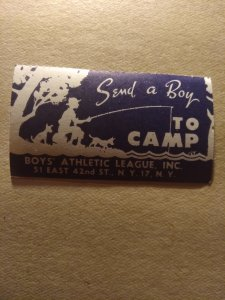 US  send a boy to camp mint
